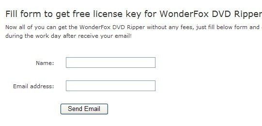 WonderFox DVD Ripper License Key Free Giveaway