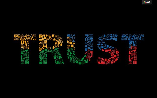AVG Desktop Wallpaper - AVG Trust