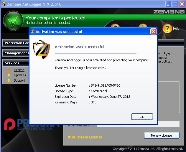 Download and Activate Zemana AntiLogger