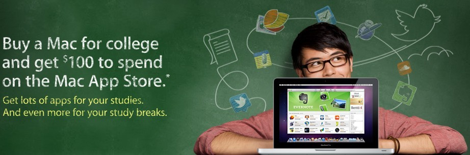 Apple's Back to School 2011 Promo offers $100 gift card instead of iPod