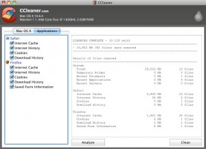Free Download CCleaner for mac To Clean & Optimize Mac OS X