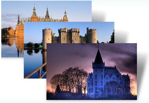 Download Castles of Europe Theme Pack For Windows 7