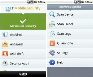 ESET Mobile Security for Android Devices