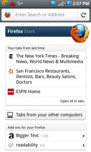 Firefox 5 Final for Android