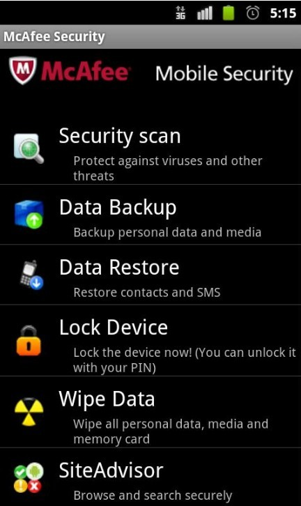 Safeguard Your Android Devices With McAfee Mobile Security