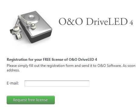 O&O DriveLED 4 Pro Hard Drive Monitor Software Giveaway