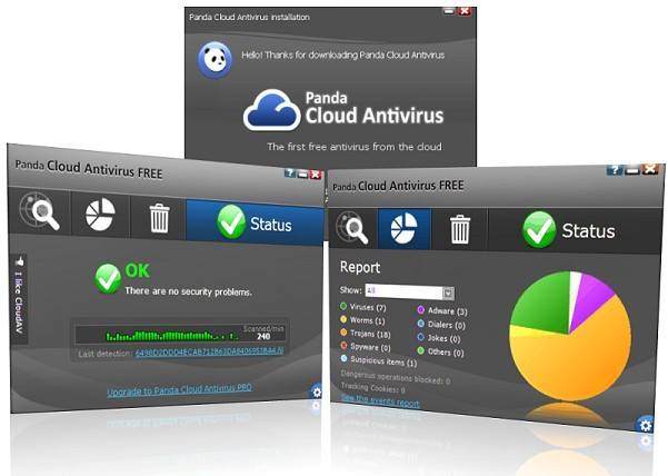 Panda Cloud Antivirus 1.5 Released [Free Download]
