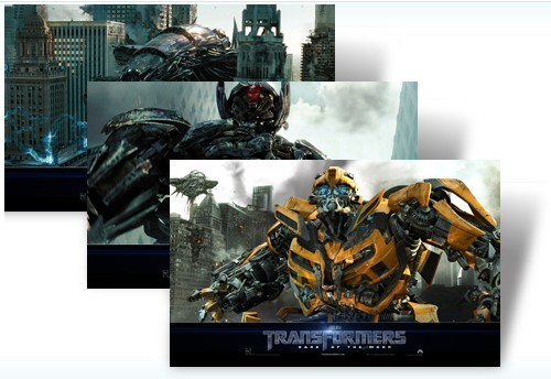Transformers 3 Dark of the Moon Official Windows 7 Theme Pack