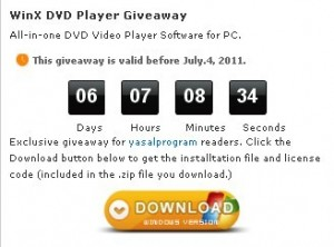 WinX DVD Player Register Code Free Giveaway