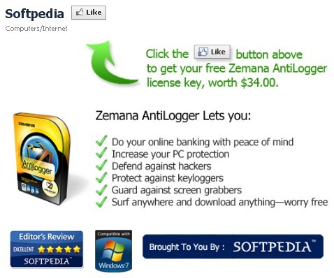 Zemana AntiLogger Software 1 Year Serial Number - Softpedia Giveaway