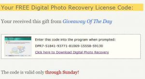 ArtPlus Digital Photo Recovery 7.2 Free Giveaway