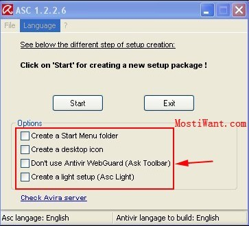 Choose your options (checkbox)