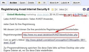 Avast Internet Security 6 License Email