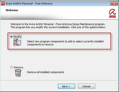 Avira AntiVir Personal Free Antivirus Software with WebGuard Protection