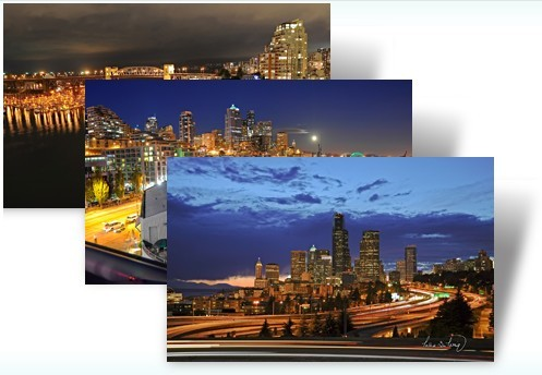 City Lights Windows 7 Theme Pack
