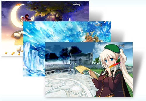 Mabinogi Game Windows 7 Theme Pack