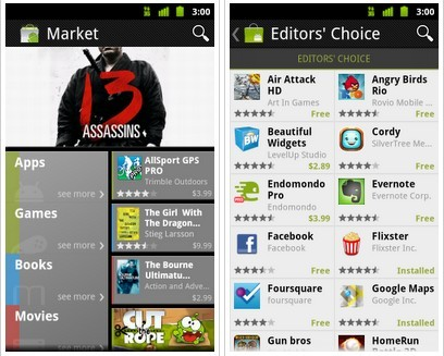 New Android Market App