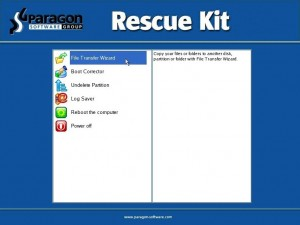 Paragon Rescue Kit 11 Free Edition - Professional Data and System Recovery Toolkit