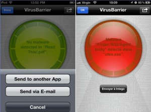 VirusBarrier iOS: First Antivirus and AntiMalware app for iPhone, iPad & iPod touch