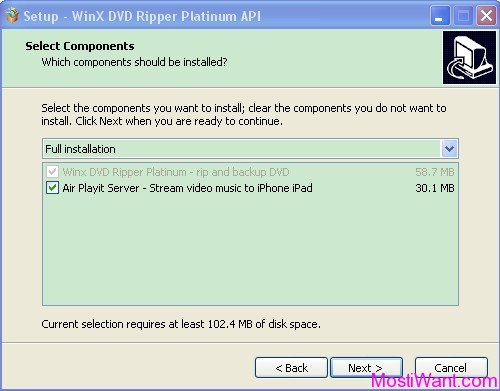 WinX DVD Ripper Platinum Streamer Edition Free License Key