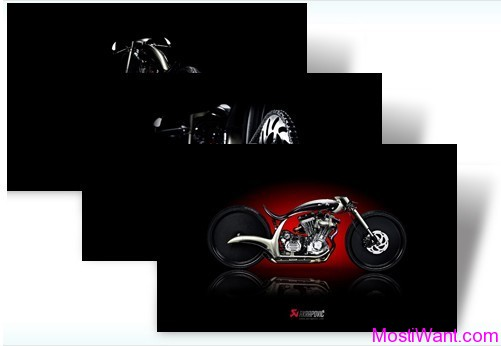 Akrapovic Morsus Windows 7 Theme Pack