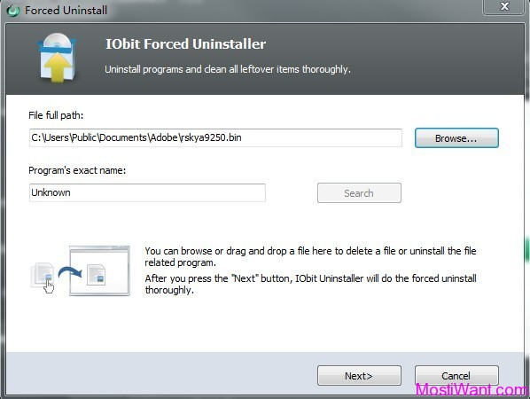 IObit Uninstaller 2.0 - Forced Uninstall