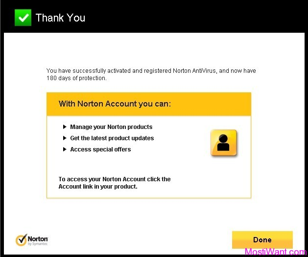 Norton AntiVirus 2012 Free 180 Days OEM