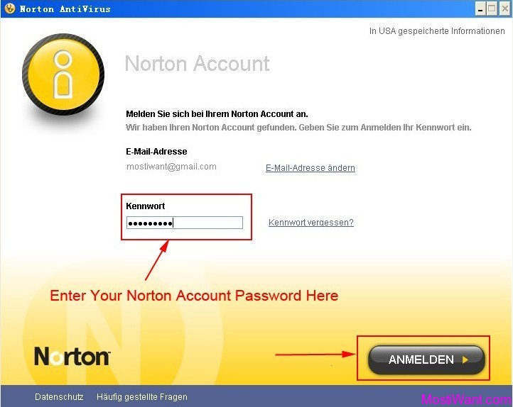 Norton AntiVirus 2012 180 Days OEM