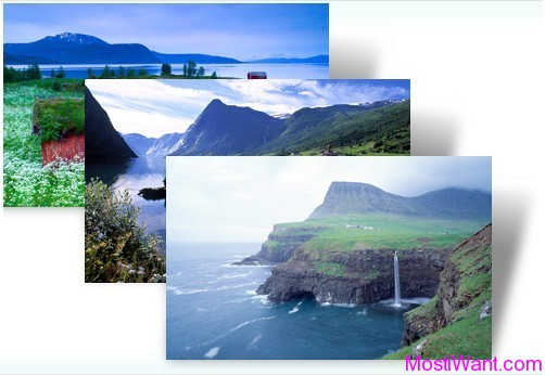 Nordic Landscapes Windows 7 Theme Pack