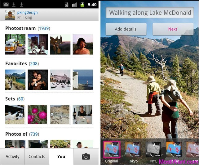 Official Flickr App for Android