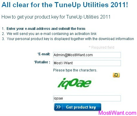 TuneUp Utilities 2011 Product Key - Activation Code Free Giveaway