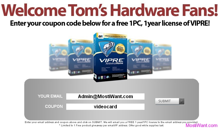 VIPRE Home Antivirus + Antispyware 4.0 Coupon Code