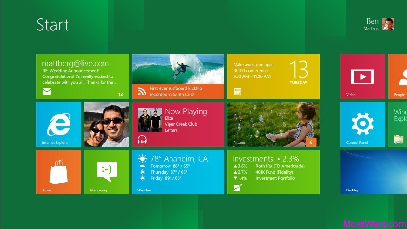 Windows 8 Developer Preview (Pre-Beta) Build 8102 32 & 64 bit ISO