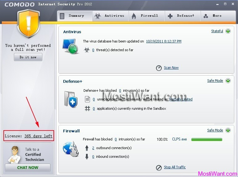 Comodo Internet Security 2012