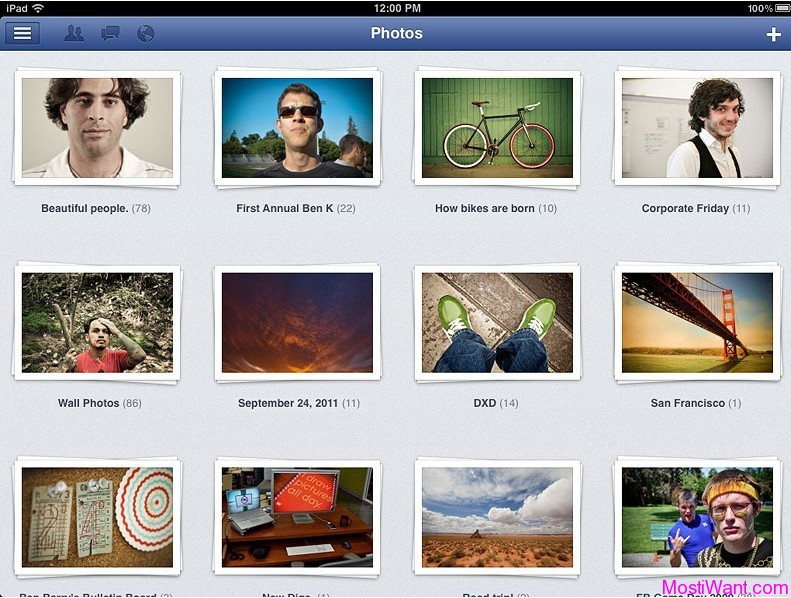 Download Official Facebook App for apple iPad & iPad 2