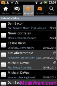 Official Hotmail App for Android Phones