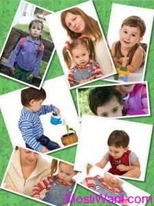 An example of photo collages created by CollageIt for Mac