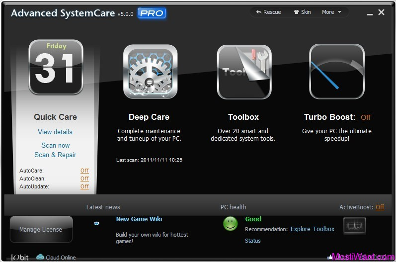 IObit Advanced SystemCare Pro 5