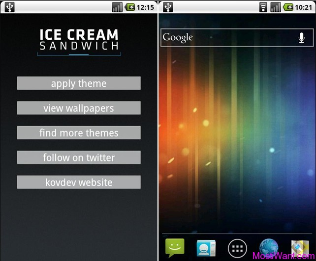 Android 4.0 Theme Pack