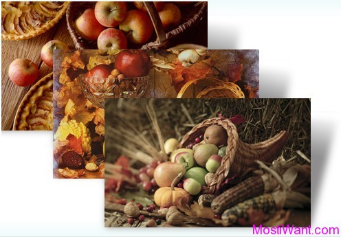 Autumn Bounty Theme Pack for Windows 7 & Windows 8