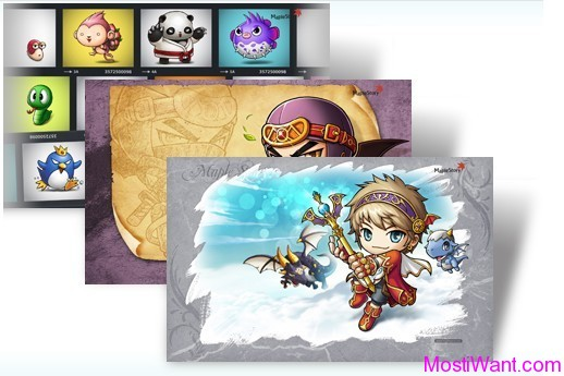 MapleStory Theme Packe for Windows 7 & Windows 8