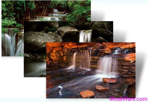 Waterfalls Windows 7 Theme Pack