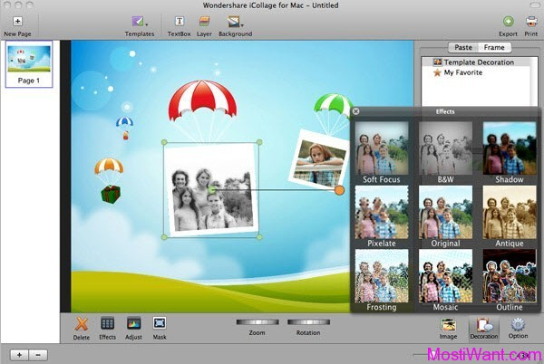 Wondershare iCollage for Mac