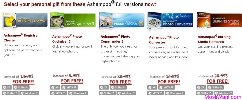 5 Full Versions Ashampoo Software To Download