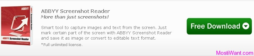 ABBYY Screenshot Reader Free Full Version Download