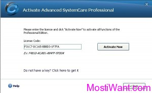 Activate Advanced SystemCare Pro 4.2 Full Version