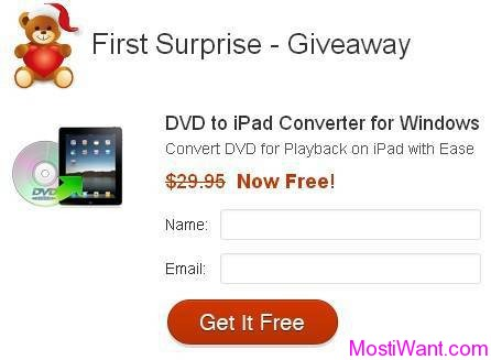 Aimersoft DVD to iPad Converter Free Giveaway