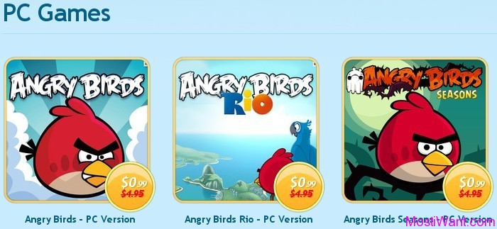 Download Angry Birds PC Games for Only 99 Cents Each
