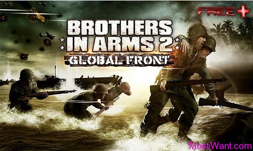 Brothers In Arms 2: Global Front Free HD for Android