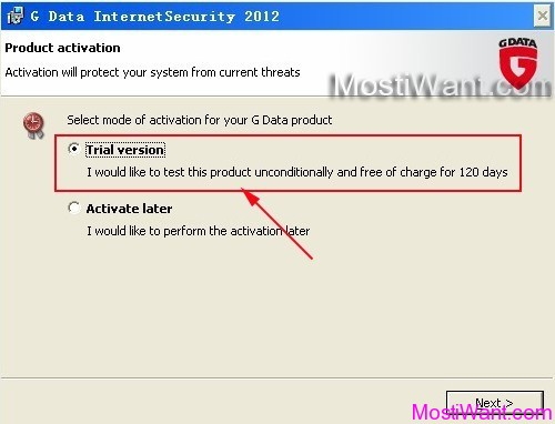 G Data Internet Security 2012 Free Download 120 Days Trial Version